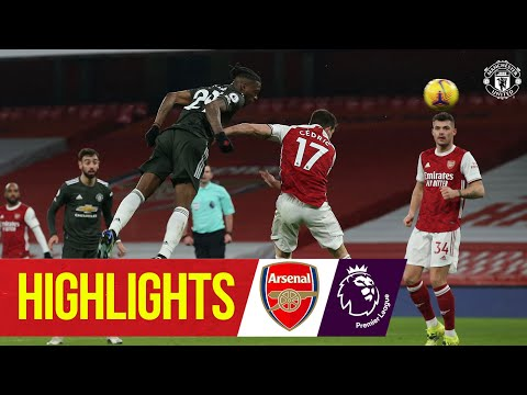 Arsenal Manchester United Goals And Highlights