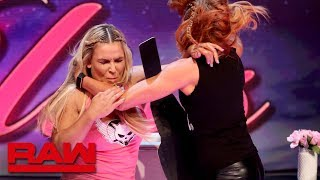"Natalya and Becky Lynch brawl on ""A Moment of Bliss"": Raw Reunion, July 22, 2019"