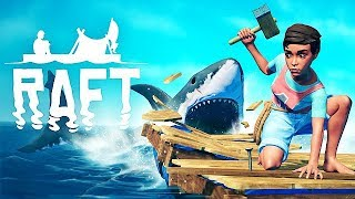 RAFT Gameplay German - Survival Game mit Hai kommt auf Steam