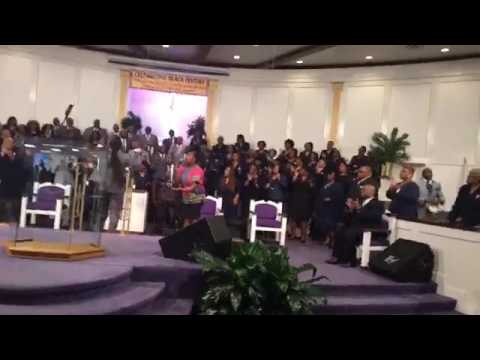 """The Atlanta Chapter of GMWA Mass Choir """"He'll Be Right There"""""""