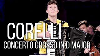 Martynas Levickis & Mikroorkéstra – Corelli: Concerto grosso in D major, Op. 6, No. 4