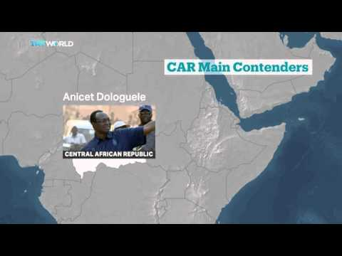 Main contenders in Central African Republic presidential election