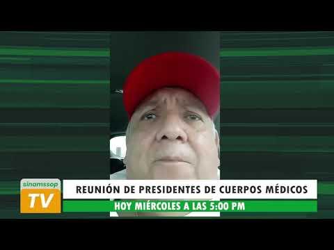 SECRETARIO GENERAL CONVOCA A REUNIÓN DE PRESIDENTES DE CUERPOS MÉDICOS HOY A LAS 5:00 PM