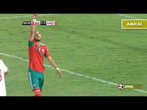 Maroc vs Canada (4-0) - Match amical