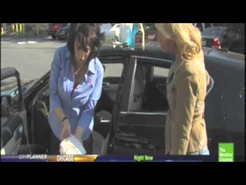 Weather Channel- How Clean Is Your Car? Lauren Fix, Car Expert