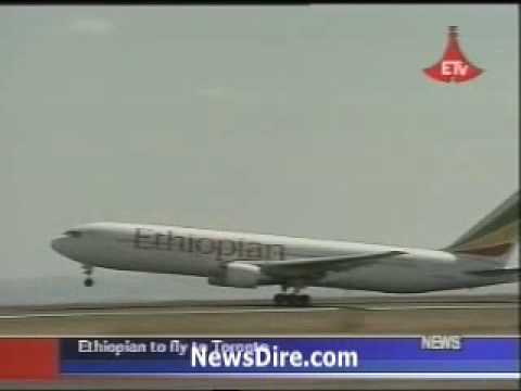Ethiopian Airlines and Canada Airservice agreed to fly to toronto 3 times a week