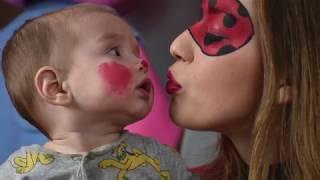 como pintarse la cara de Ladybug !