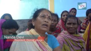 Natural water source is on the brink of extinction in Domat, Bihar - Video volunteer Tanju Reports