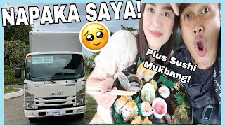 FIRST TIME SUMAKAY SA R TRUCK! + MUKBANG AT KWENTUHAN