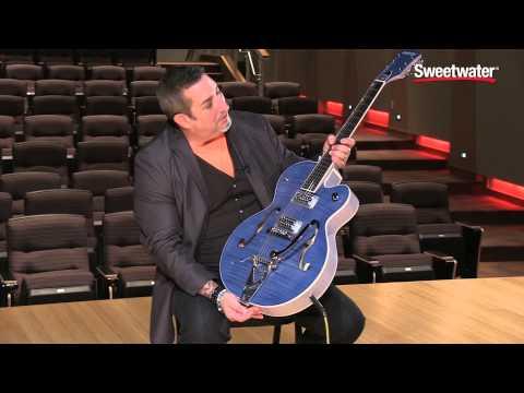 Gretsch Brian Setzer Hot Rod Guitar Demo by Sweetwater Sound