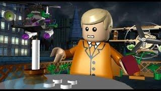 LEGO Batman 100% Guide - Villains Episode 3-2 - Biplane Blast (All Minikits/Red Brick)