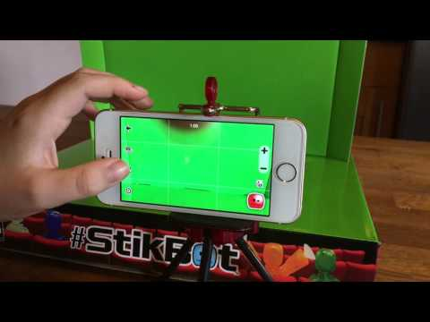 How To Use Stikbot Studio App and Green Screen