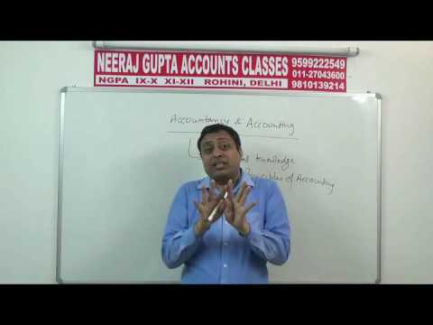EA 03 11th ACCOUNTS – BOOK KEEPING, ACCOUNTANCY OBJECTIVES & FUNCTIONS OF ACCOUNTING  (NEERAJ GUPTA)