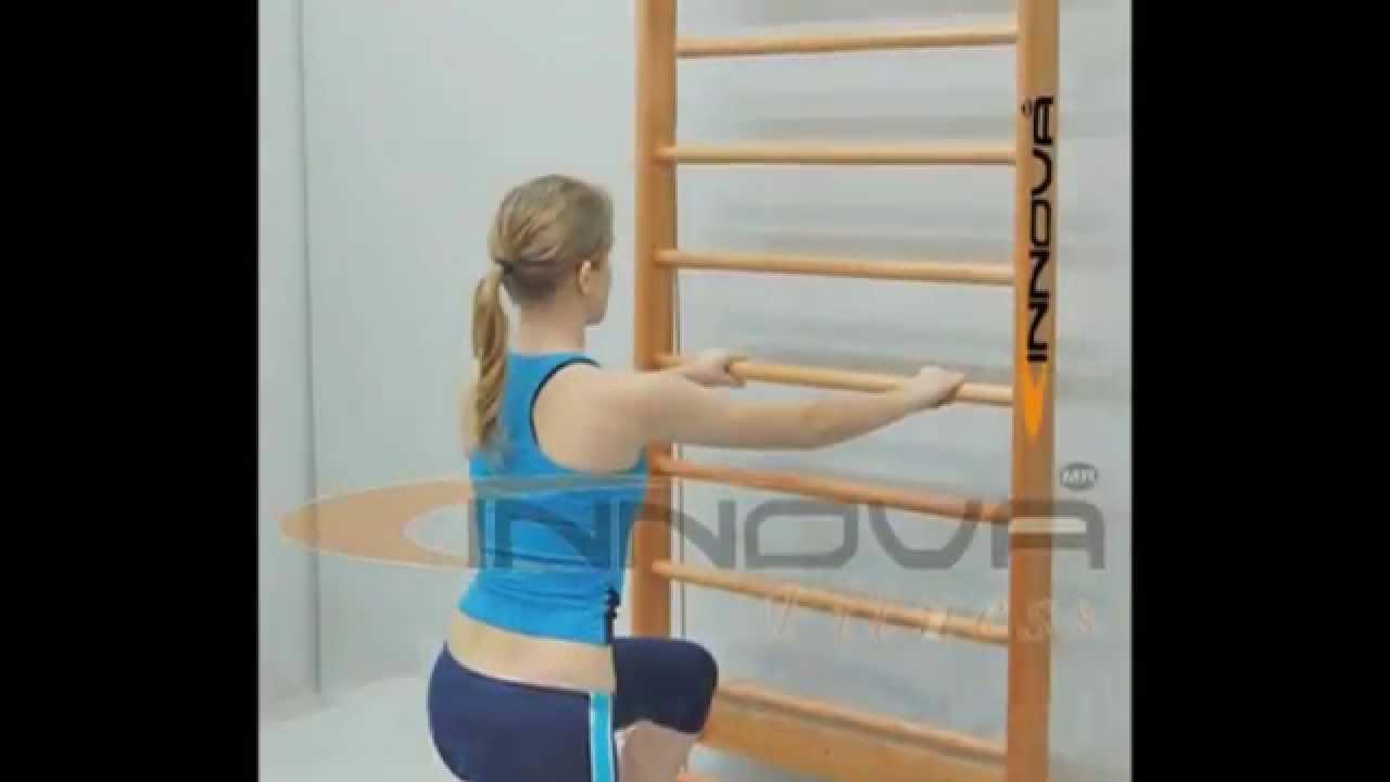 Equipos para rehabilitaci n f sica escalera sueca for Aparatos de gimnasio usados