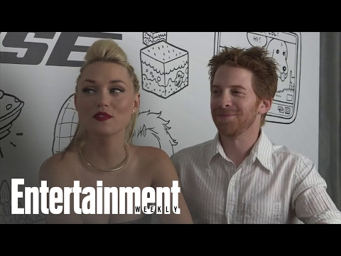 Chatting with Seth Green and Clare Grant, Comic-Con's king and queen