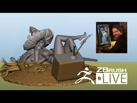 Jon Troy Nickel - 3D Sculpting for Figurine Production - Epi