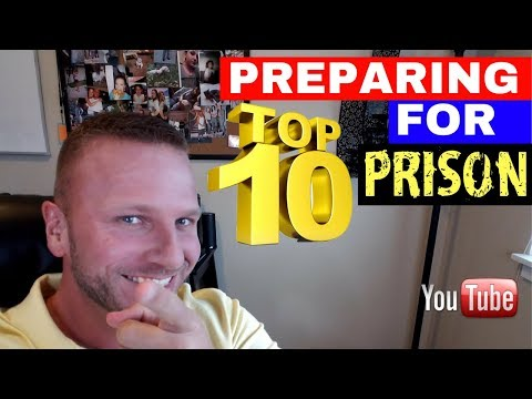Going To Federal Prison? Top 10 Things Needed To Prepare!