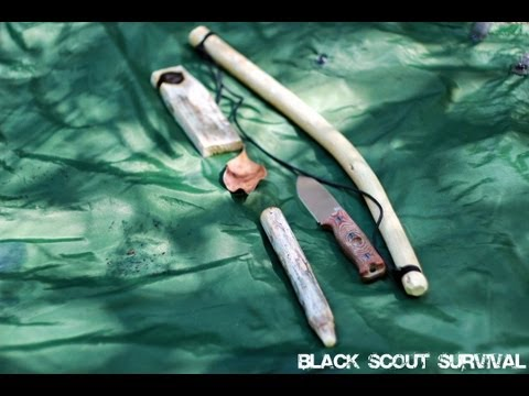 Black Scout Tutorials - Friction Fire Bow Drill Method