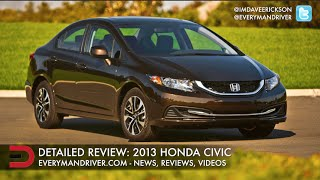Here's the 2013 Honda Civic on Everyman Driver