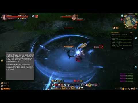 Age of Wulin - [Test] Ancient Tomb Sect skills