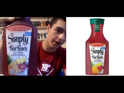 Random Reviews #7 Simply Fruit Punch