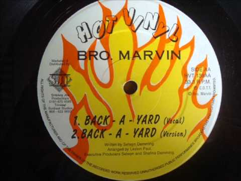 Brother Marvin   Back A Yard
