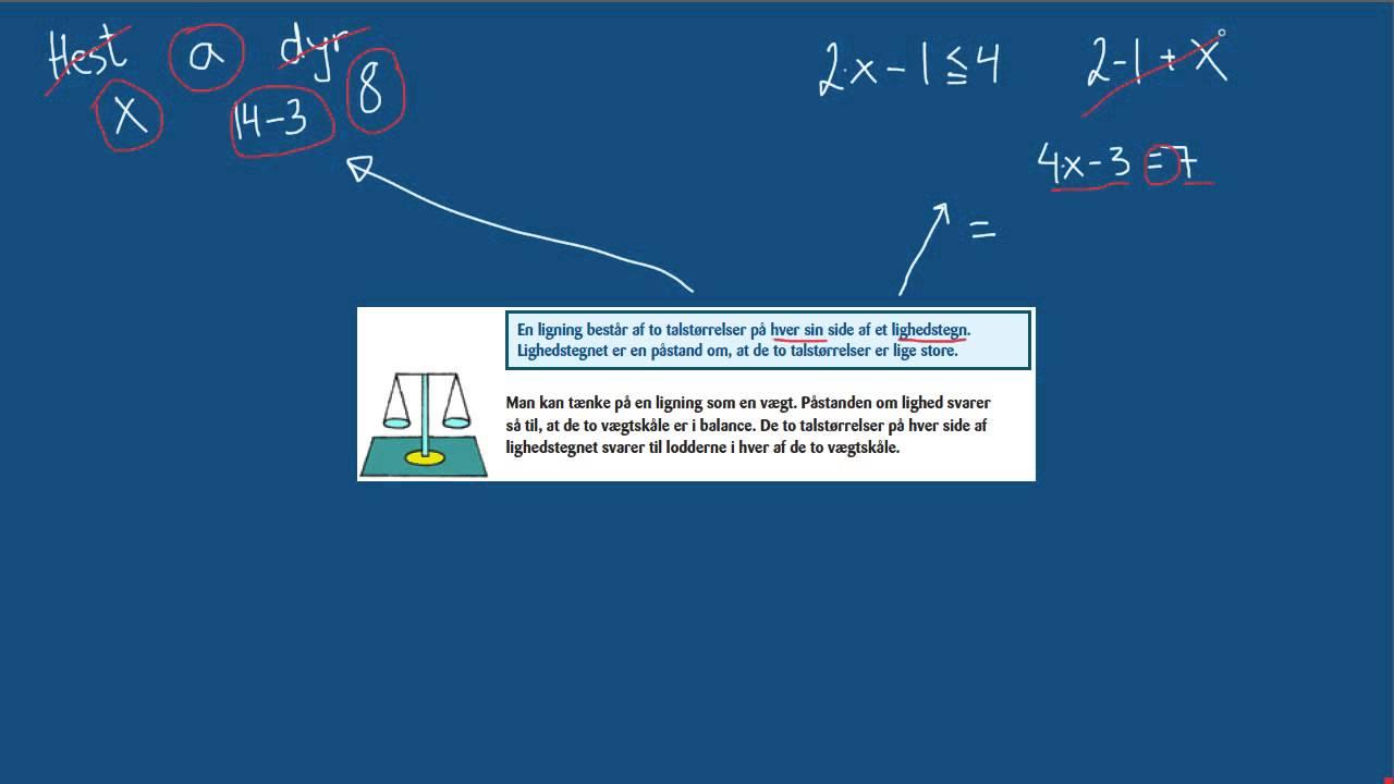 Matematrix7 Hvad er en ligning.mp4
