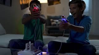 서바이벌 배틀 게임 레이저건 안전한 총싸움 프로젝터