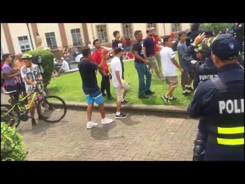 Manifestación contra nicaragüenses 4
