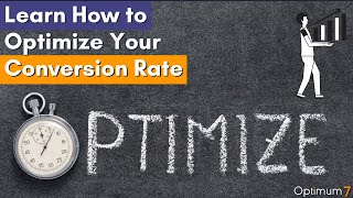 Learn How to Optimize Your Conversion Rate – E-Commerce Conversion Rate Optimization