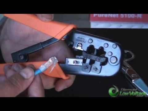 How to Make Custom Lengths of Cat5e Ethernet Patch Cables Using a