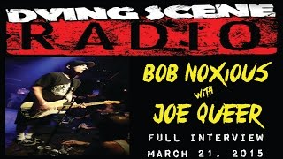 Bob Noxious Interviews Joe Queer of The Queers at BackBooth Orlando | Dying Scene Radio