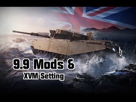 9.9 Mods & XVM Settings - SSDD || World Of Tanks