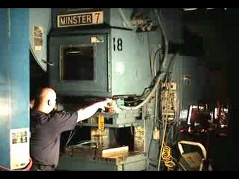 Stock 2513 75 Ton Minster 7D OBI Press