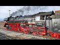 BR 41 1150-6 mit Dampfsonderzug in Buchloe im Allgäu !!