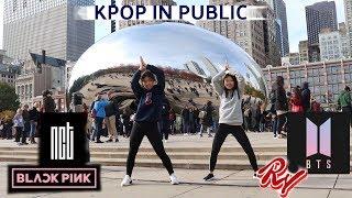 CHICAGO KPOP IN PUBLIC CHALLENGE (BTS, NCT, BLACKPINK, RED VELVET) *Security Stops Us!*