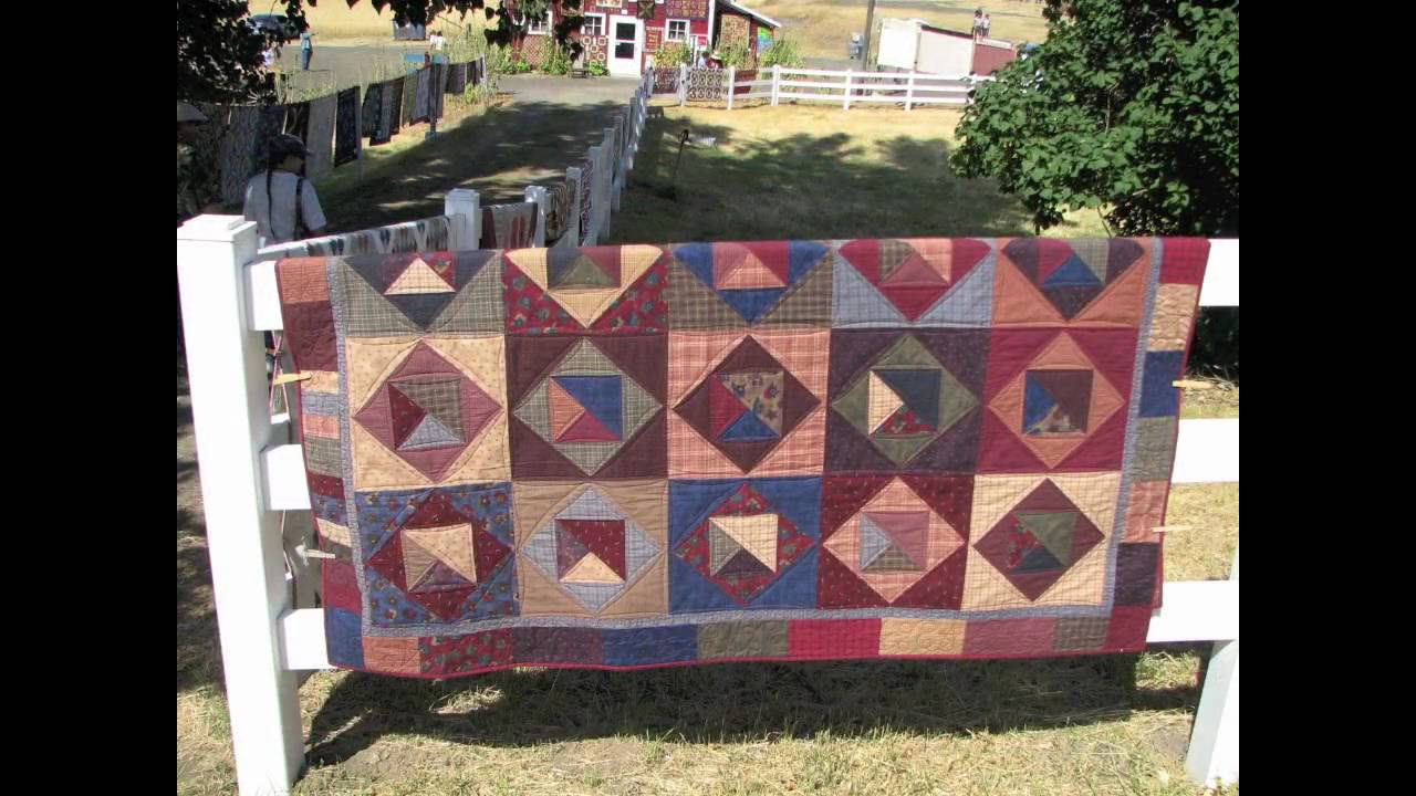 12th Annual Buggy Barn Outdoor Quilt Show, August, 2008 - YouTube : buggy barn quilt show - Adamdwight.com