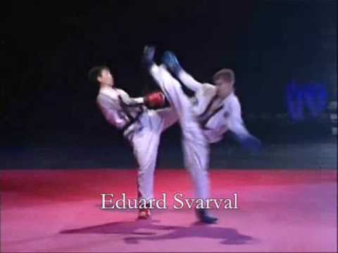 "Prof Fights Taekwon-do (ITF) in Estonia. (""Boi s Tenju-2"")"