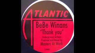 BeBe Winans - Thank You (MAW Mix)