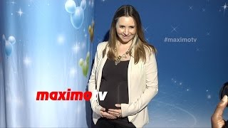 Beverley Mitchell Pregnant | Disney on Ice Let