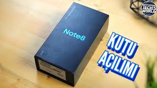Samsung Galaxy Note 8 Kutu Açılımı (Efsane Geri Döndü!)
