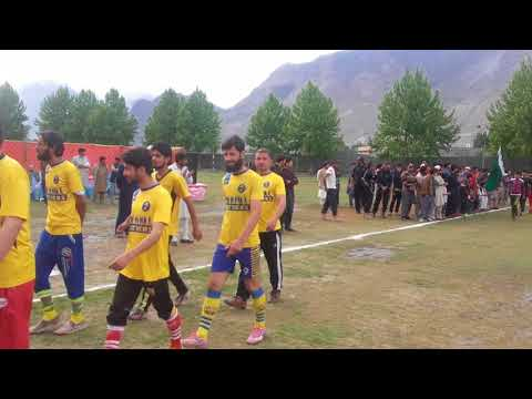 Football tournament in Gilgit Baltastan
