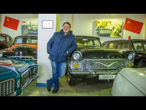 Уфимец собрал коллекцию ретро-автомобилей