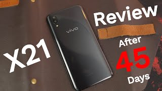 Vivo X21 Review After 45 Days Vivo X21 Best Buy Link: https://goo.g...
