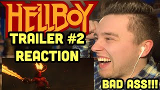 HELLBOY (2019) RED BAND TRAILER #2 REACTION