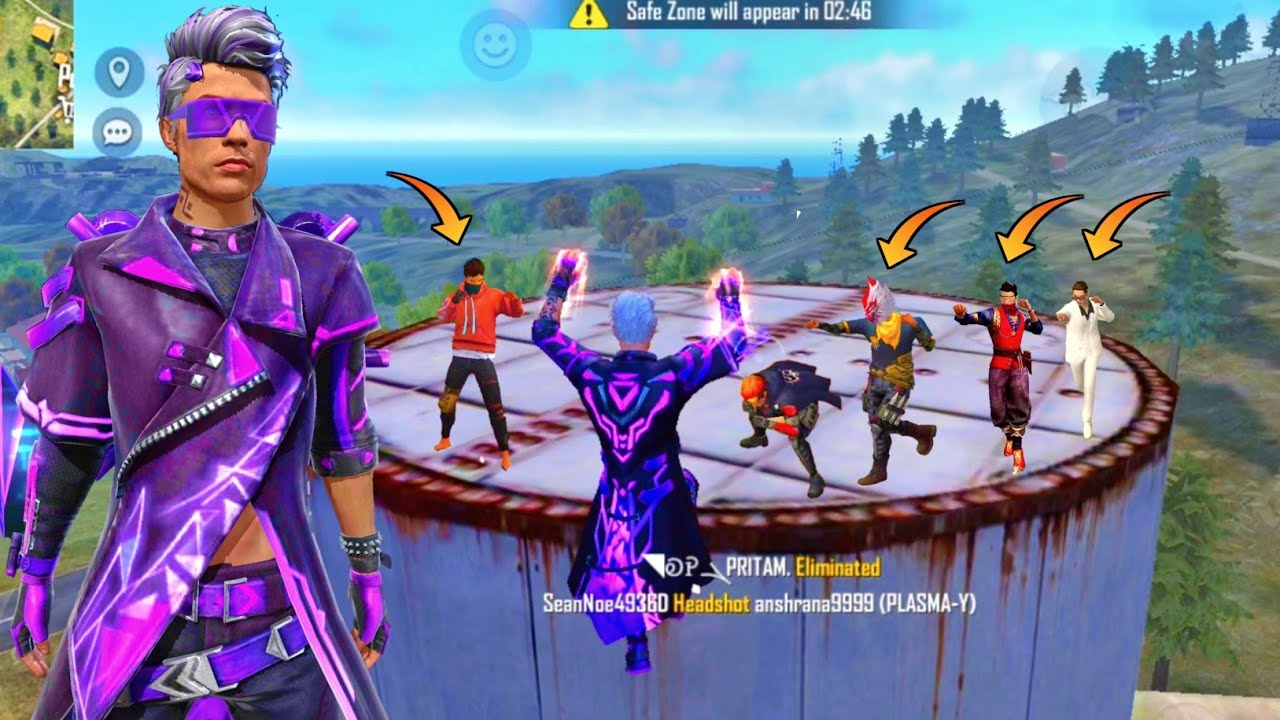 "Download 🔥New ""PHANTOM MICROZARK"" Bundle Factory Roof 19 Kills Dangerous Gameplay - Garena Free Fire"