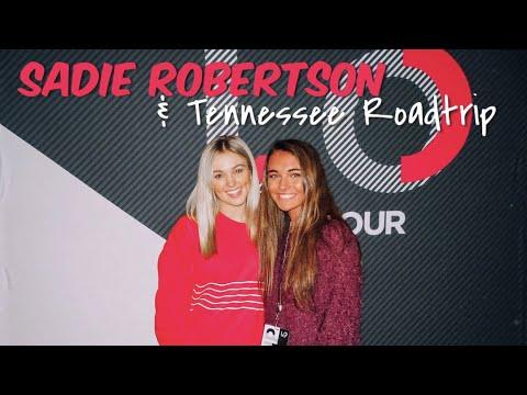 vlog: Sadie Robertson and Tennessee Road Trip!