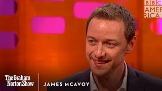 James McAvoy Unloads on Jennifer Lawrence - The Graham Norton Show