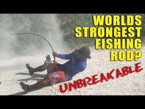 World's STRONGEST Fishing Rod? Unbreakable?
