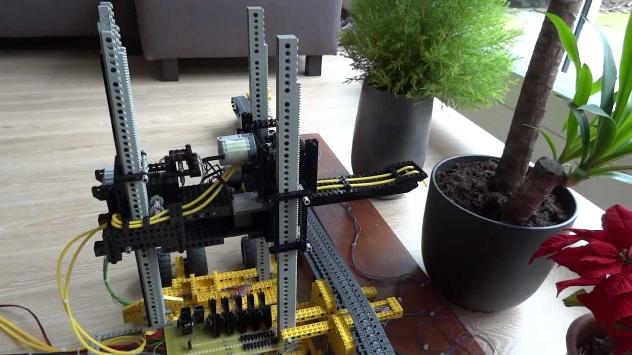 Useful Lego Plant Watering Robot With Arduino Youtube